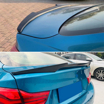 Use For BMW 4 Series Coupe F32 Spoiler 2013--2019 Year 2-door Carbon Fiber Rear Wing M4 Style Accessories Body Kit image