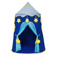 Play Tent Portable Foldable Boy Girls Folding Tent Children Boy Castle Play House Kids Gifts Outdoor Toy Tents