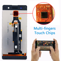 Touch Screen For Sony Xperia XA 5.0 inch F3111 F3112 F3115 F3116 LCD Display Digitizer Sensor Glass Panel Assembly Free Tools