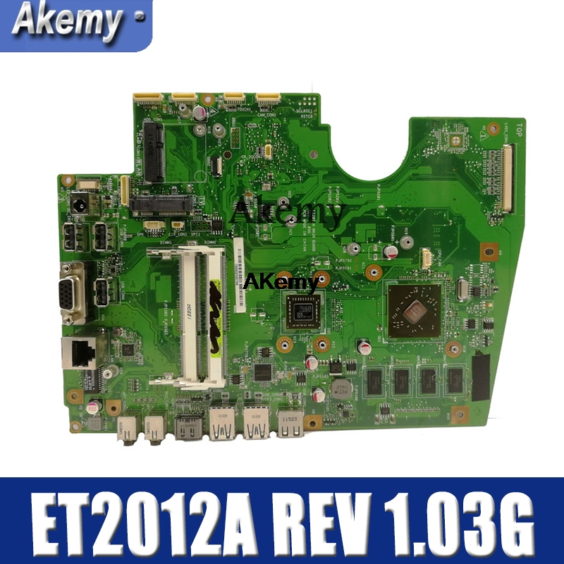 Amazoon  Original All-in-one Motherboard For ASUS ET2012A ET2012 Mainboard 100% Test Ok Works