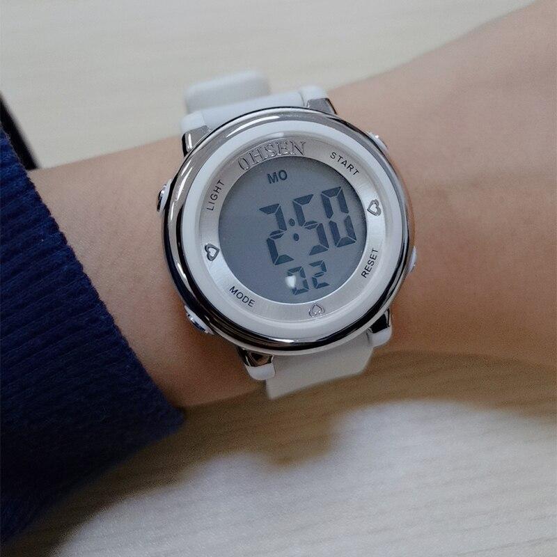 Digital Sports Watches Women Waterproof Wrist Watch Female LED Electronic Watch For Women Outdoor Running Clock Relogio Feminino