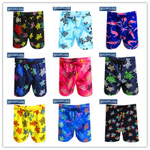 Spring Summer 2020 Big Brand Brevile pullquin Beach Board Shorts Men Turtles Swimwear Lobster Male Boardshorts Bermuda Quick Dry(China)