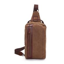 WANFUBAO Lady Shoulder Messenger Bag Small Sling Chest Backpack Crossbody Bolso Sac chest Bags Pack for Men Women