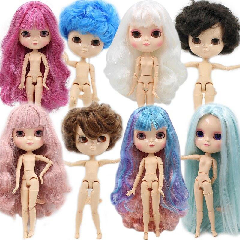 Ледяной обнаженной куклы такие же, как Blyth с макияжем, суставное тело, низкая цена 1/6 30 см BJD
