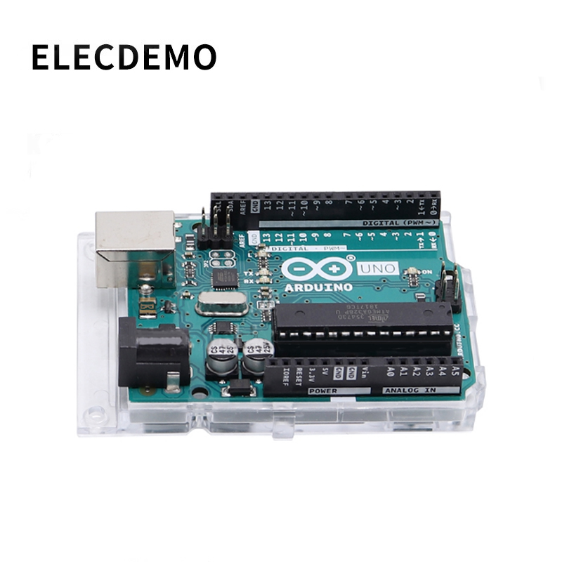 Arduino uno R3 development board original Italian import English AVR single chip module(China)