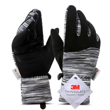 Gloves Velvet Touch-Screen Warmth Outdoor Winter Women Windproof And Ski-Anti-Skid Hot-Selling