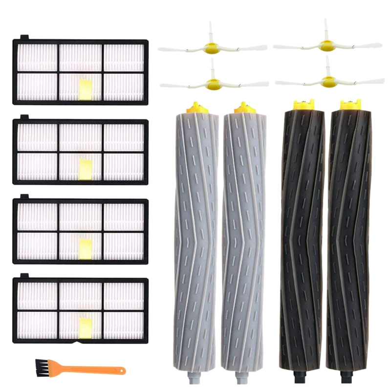 Hepa Filters Brushes Replacement Parts Kit For Irobot Roomba 980 990 900 896 886 870 865 866 800 Accessories Kit|Vacuum Cleaner Parts| |  - title=