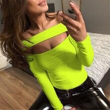 Bodysuit Sexy Neon Green Rompers Womens Jumpsuit Body Femme Salopette Body Suit Woman Mono Corto Mujer Combinaison Body Feminino