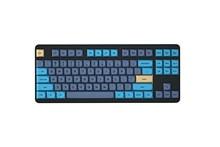 Idobao azul cat pbt ma perfil layout completo corante-subbed keycaps