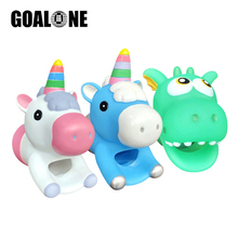 GOALONE Cartoon Faucet Extender Silicone Water Tap Hand Washing Cute Kitchen Bath Sink Handle Extension for Toddler Kid