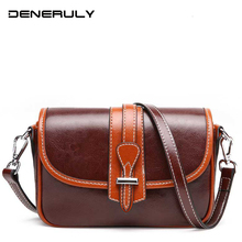 2019 Crossbody Bags Women Leather Genuine First Layer Of Cowhide Leather Bag Vintage Cow Leather Bags Luxury Handbags Designer стоимость