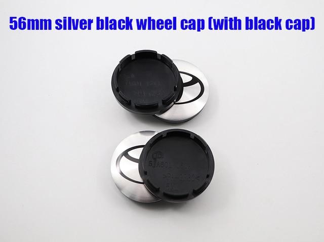 4 pçs 56mm 60mm mais novo logotipo do carro emblema roda centro hub tampão aro automático reequipamento à prova de poeira emblema cobre adesivo estilo acessórios ft