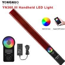 Yongnuo 内蔵LEDビデオライトプロジェクター,インチ画面,3200k〜5500k,rgbカラー温度,リモコン付き