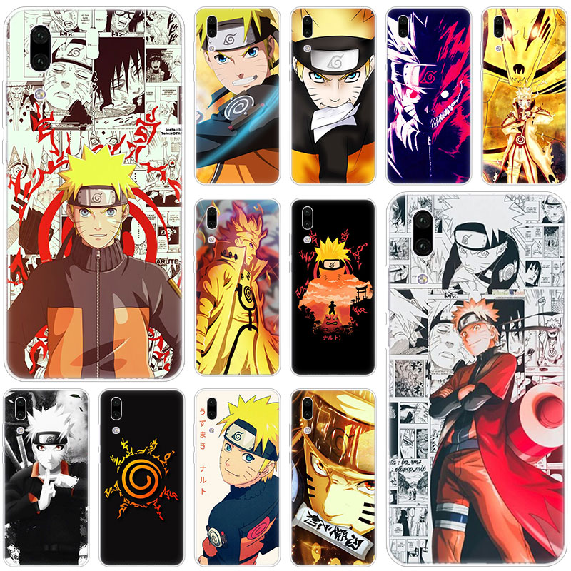 Hot Anime Uzumaki Naruto Silicone Case for Huawei P30 P20 Pro P10 P9 P8 Lite 2017 P Smart Z Plus 2019 NOVA 3 3i 5i 5 5Pro Cover