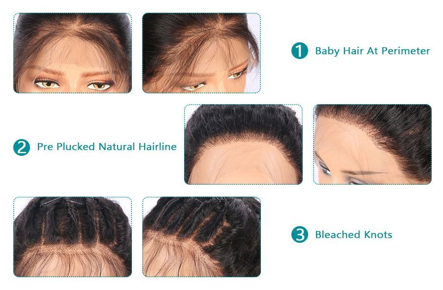 Natural Hairline With Baby Hair