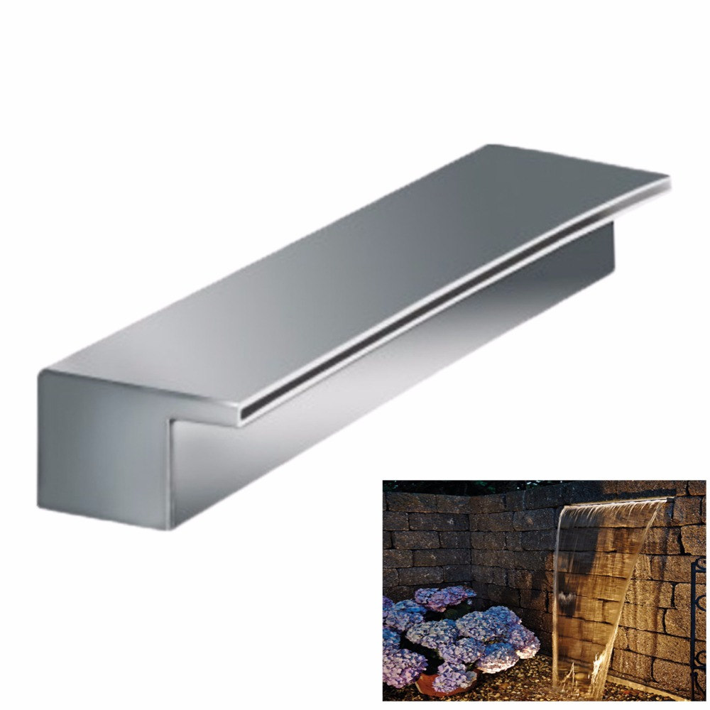 Piscine En Inox Steel And Style us $358.0 |decorative indoor or outdoor artificial stainless steel water  feature wall fountain outdoor wall decor pool,waterfall fountain|fountains  &