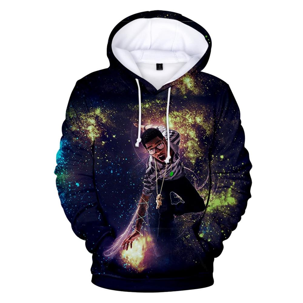 Kid Cudi Hoodie 3D Sweatshirt hoodie  1