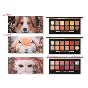 Mezze Pet Animal Eyeshadow Matte Pearlescent Eye Shadow Palette Holographic Shiny Makeup Palette High Quality Eyeshadows TSLM2