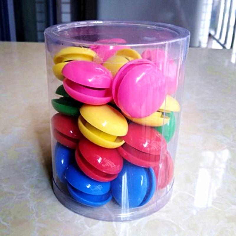 50 Pcs Magnetic Tacks Thumbtacks Plastic Color Beads Refrigerator Fridge Stickers Whiteboard Blackboard Particle Size 32mm
