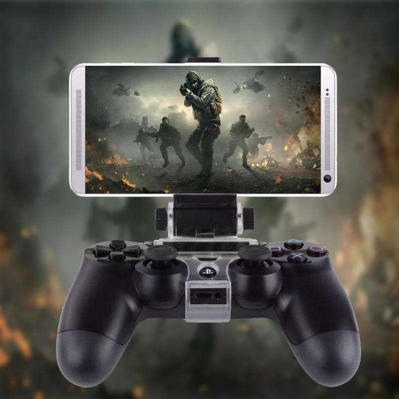 Mobile Smart Phone Clip Clamp Mount Holder For PlayStation PS4 Game Controller