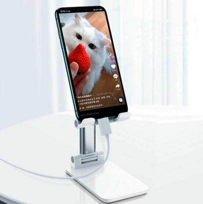 Group Vertical Phone Holder Mobile Phone Stand Bracket Tablet Stand Folding Bracket For Mobile Phone Tablet PC Support 4-7.9inch