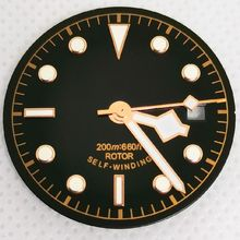 Watch Parts 30mm Green Night Ligth Dial And Hour Hands Fit Eta2836/2824/2892 Miytoa8215 8205 8200 NH35 Automatic Movement