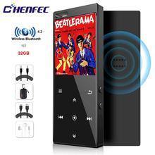 Mp4 плеер с Bluetooth и сенсорным ключом, встроенный динамик, HiFi музыкальный плеер без потерь с FM видео плеером, поддерживает SD карту до 128 ГБ