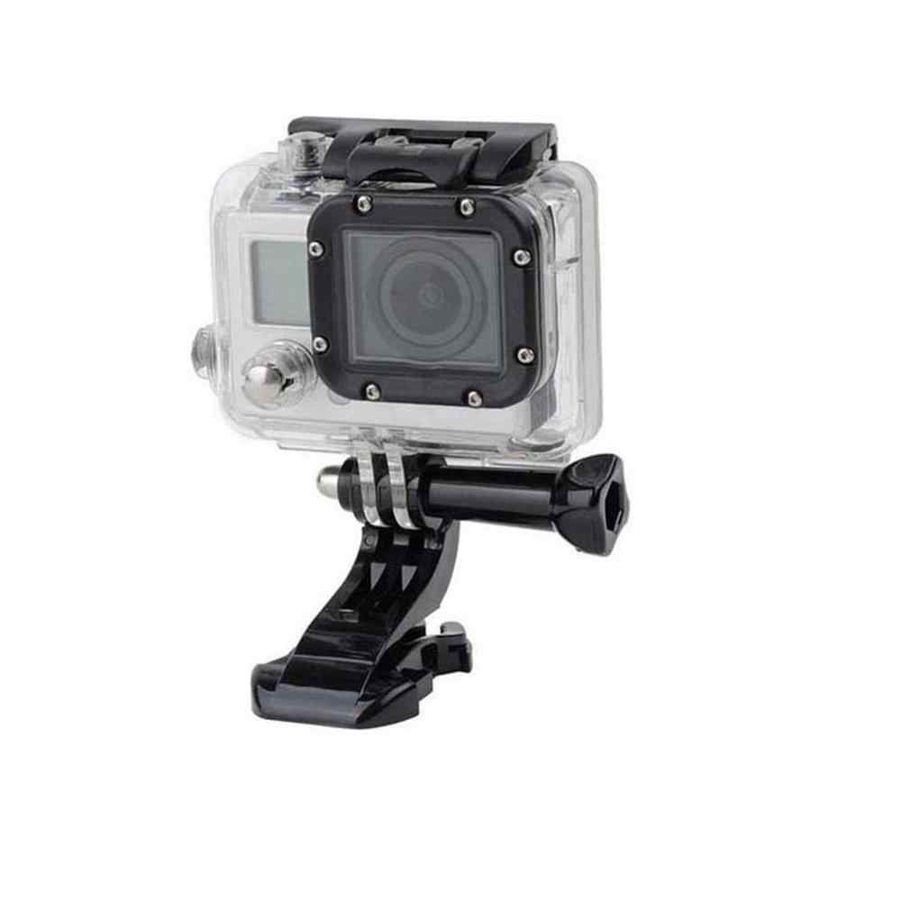 1 sztuk j-hook klamra powierzchni uchwyt na gopro akcesoria do gopro Hero 4 3 Xiaomi Yi SJCAM SJ4000 SJ5000 SJ7000 kamera akcji