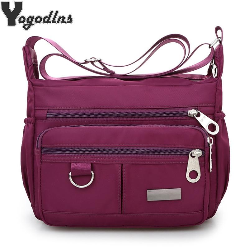 Handbags Tote Messenger-Bag Cloth Bolsos Sac Crossbody Main Large-Capacity Waterproof