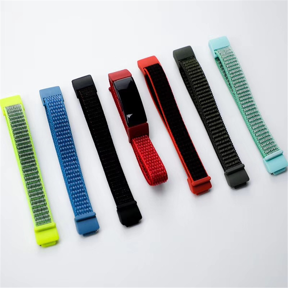 Nylon Loop Watchband For Fitbit Inspire / Inspire HR Sport Bracelet Soft Replacement Accessories For Inspire HR Wristband Strap