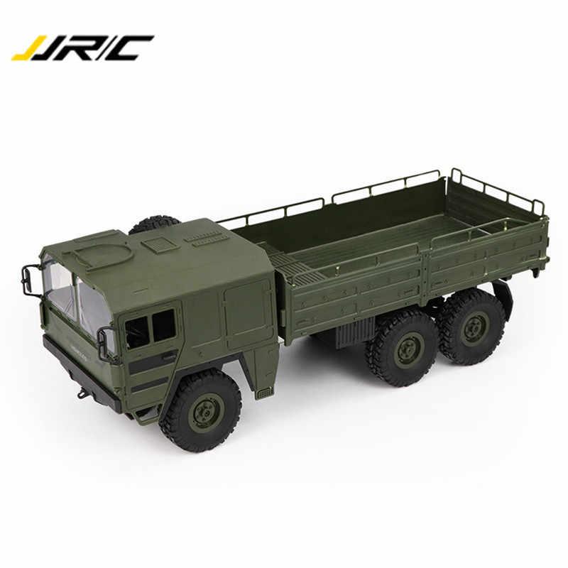 لعبة أطفال أصلية JJRC Q64 1:16 بستة محركات مع جهاز تحكم عن بعد وبطاقة عسكرية للتعليق على الطرق الوعرة وتسلق السيارات
