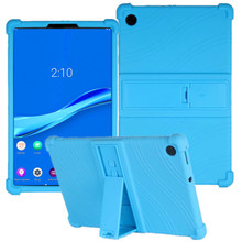 Fall Für Lenovo Tab M10 HD 2nd Gen funda Stehen Weiche Silicon Abdeckung für Lenovo TB-X306F M10 10,3 10,1 P10 stoßfest Tablet Shell