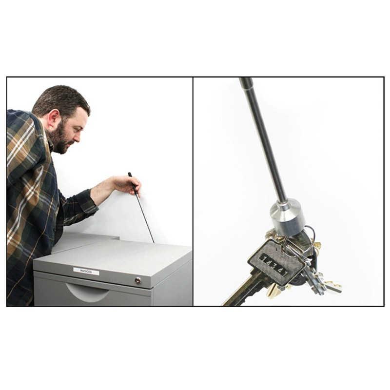 Adjustable Telescopic Magnetic Pick-Up Alat Pegangan Dapat Diperpanjang Panjang Mencapai Pena Alat Praktis untuk Mengambil Magnet Kuat Magnet