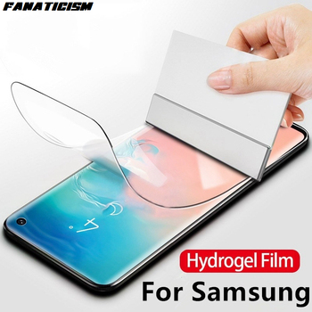 200pcs Screen Protector Hydrogel Film For Samsung M10 M20 M30s M40 S20 S10 S9 Plus Protective Film Full Cover TPU Film Not Glass