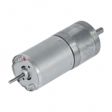 25GA370D DC 12V 24V Gear Motor 10/15/25/35/60/80/130/150/300/600 RPM DC Brush Gear Motor Lengthening Shaft Installable Encoder