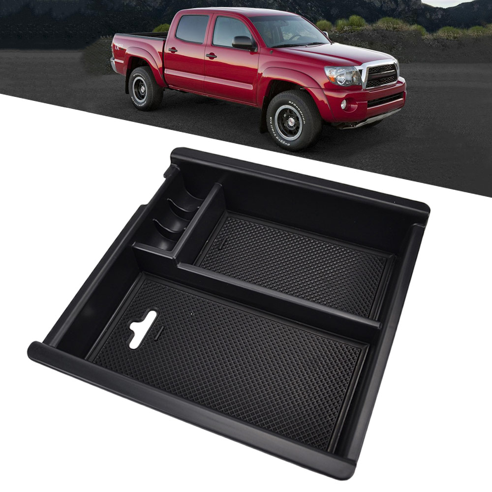 Tray Armrest-Box Organizer-Insert Center-Console Secondary-Storage Toyota for Tacoma
