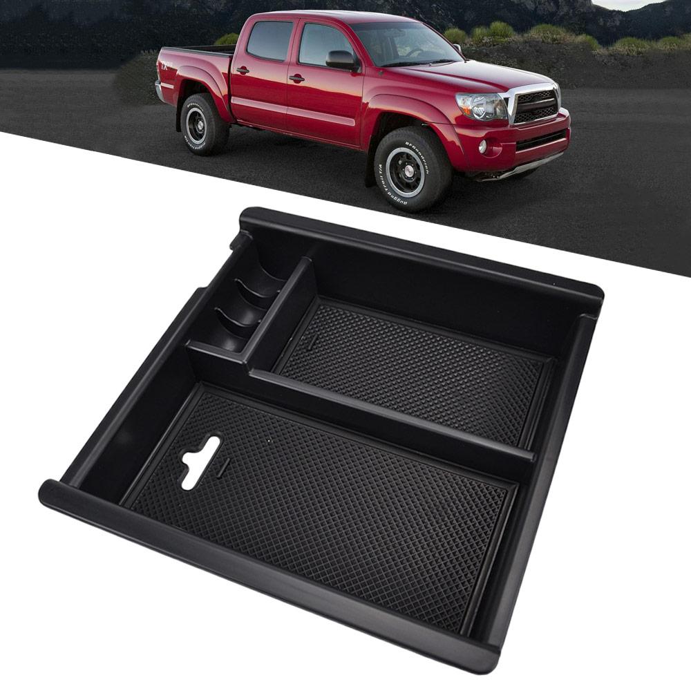 Tray Armrest-Box Organizer-Insert Center-Console Secondary-Storage Toyota for Tacoma