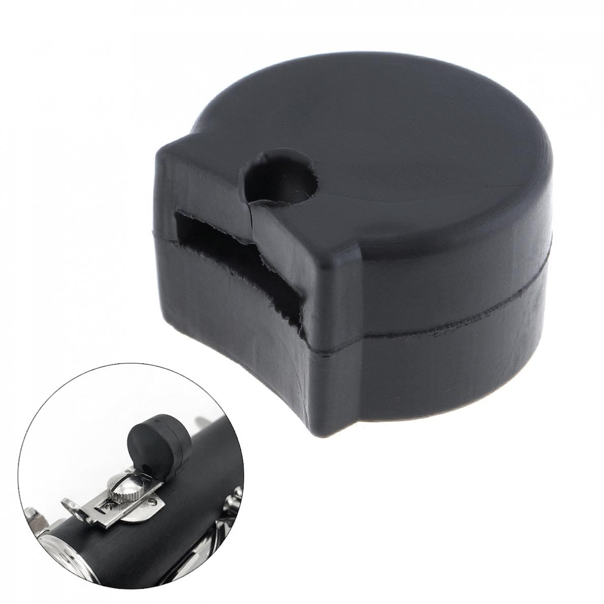 Rubber Clarinet Black Thumb Rest  Saver Cushion Pad Finger Protector Comfortable For Clarinet