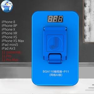 Image 3 - JC P11 BGA110 מתכנת עבור iPhone 8/8P/X/XR/XS/XSMAX NAND פלאש עבור SYSCFG נתונים שינוי & לכתוב תיקון