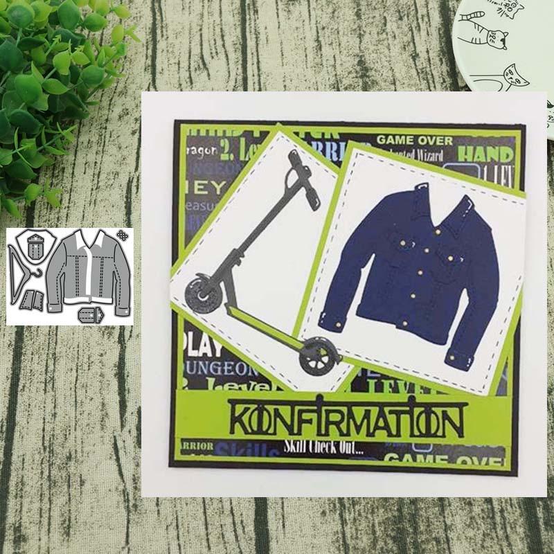 Spring 2020 Metal Cutting Dies Denim Jacket Die Mold Decoration Scrapbook Paper Craft Knife Mould Blade Punch
