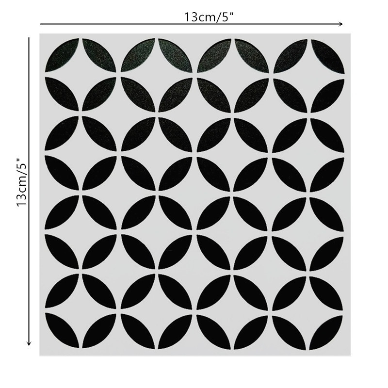 DIY Painting 13*13cm Art Stencils Template For Wall Tile Furniture Painting Decor Scrapbooking Stamping Photo Album Decor