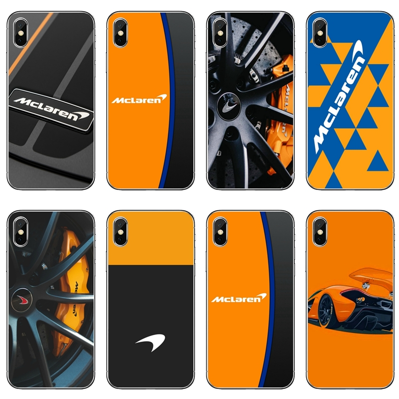 racing Mclaren Logo Soft silicone Phone Case For iPhone 8 7 6 6S Plus 11 Pro XS Max XR X 5 5S SE 4S 4 iPod Touch 5 6