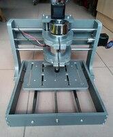 Frezarka modelarska pcb CNC 2020B DIY CNC rzeźba w drewnie Mini grawerowanie maszyna do młyn grawer wsparcie MACH3 System w Frezarki do drewna od Narzędzia na