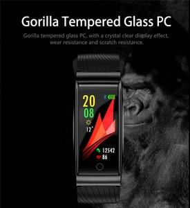Image 5 - Smart Watch F4 Smart Bracelet Heart Rate Pulse Blood Pressure Monitor Sports Watch Waterproof Fitness Wristband Intelligent