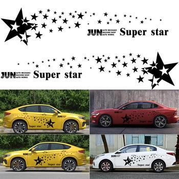 ดาวสติกเกอร์รถสากล Star รูปแบบอัตโนมัติกีฬาจัดแต่งทรงผมไวนิลคลาสสิกรถสติกเกอร์รูปลอก