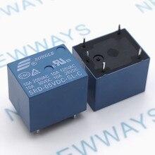 5 шт./лот SRD-05VDC-SL-C 5VDC 10A Мощность реле PCB Тип T73-5V 5 футов SRD-05VDC-SL-C и