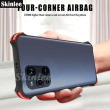 Skinlee For OPPO Find X3 Lite Pro Case Translucent Skin Anti fall Hard Cover Shockproof Phone Case For Find X3 NEO Cover