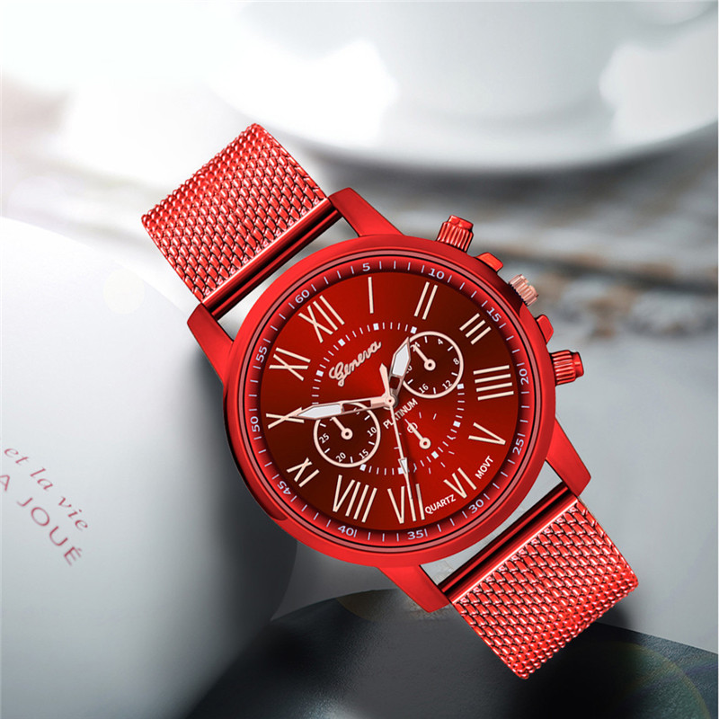 Luxury women Quartz Wrist Watch Temperament lady Watch Stainless Steel Dial Casual Bracele Watches relogio feminino A4 H599fca0b04b646c1ab6b505e51c5ec36M