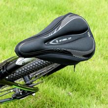 Bicycle Seat 3D Bicycle Saddle Soft Thickened Bike Seat Cover Elastic Breathable Mountain Bike Saddle Cycling Gel Cushion Cover coolchange cycling bicycle seat cover with breathable liquid silicone gel mtb road mountain bike saddle cover hollow cushion