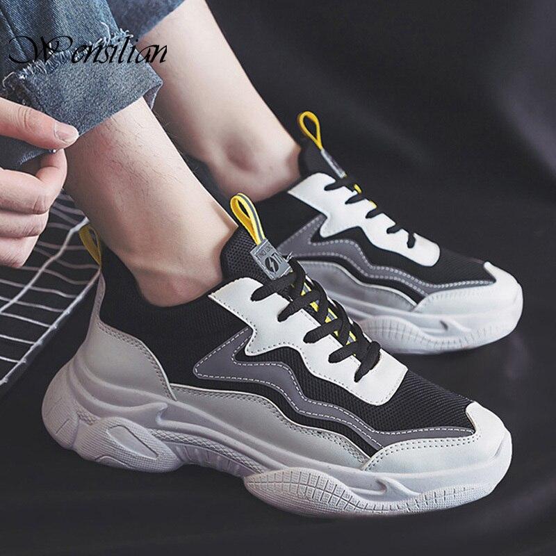 Zapatillas gruesas reflectantes para Mujer, zapatos vulcanizados con cordones, Zapatillas de plataforma, Zapatillas de diseñador a la moda para Mujer SANDALIAS ARMONIAS PLATAFORMA